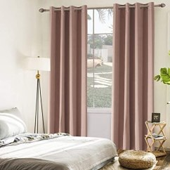 Kitchen Curtain Panels Rooms To Go Sets Temnetu 遮光隔热窗帘板用于卧室 房间变暗索环窗帘适用于客厅 厨房 2 房间变暗索环窗帘