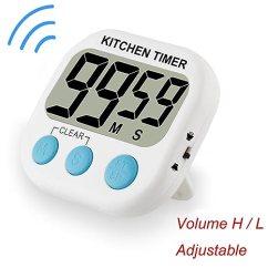 Digital Kitchen Timers Inexpensive Island 小型数字厨房计时器烹饪烘焙计时器磁性背面可调音量带响亮闹钟大数字可 小型数字厨房计时器烹饪烘焙计时器磁性背面可调音量带响亮
