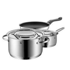 Kitchen Pot Sets Commercial Style Faucet Wmf 福腾宝德国gala Plus厨房锅具3件套不锈钢炖锅煎锅奶锅 厨具 亚马逊中国 Plus厨房锅具3件套不锈钢炖锅