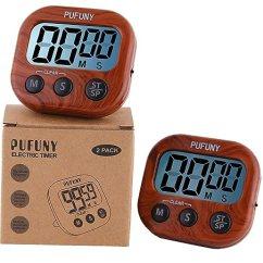 Digital Kitchen Timers Window Valance Pufuny 数字厨房计时器 烹饪计时器 教师电子计时器 儿童 大显示屏