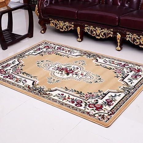 kitchen rugs amazon digital scales 龙太太地毯进门欧式毯客厅毯卧室厨房浴室防滑 100 150 588y 丽华
