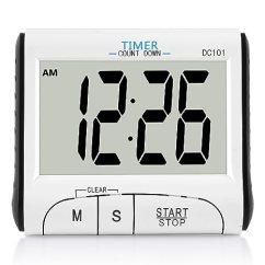 Digital Kitchen Timers Small Lighting 厨房计时器 Houswilltm 数字厨房计时器磁铁 用于烹饪 时钟计时器带 时钟