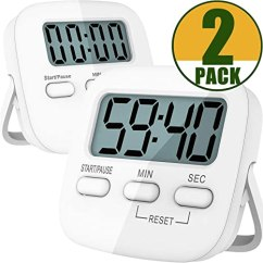 Digital Kitchen Timers Zinc Top Island Antonki 数字厨房计时器 磁性倒数烹饪厨房计时器kitchen Timer Senior