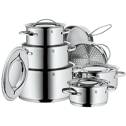 kitchen kits mission style hardware wmf 福腾宝gala plus系列厨具套装711126040 厨具 亚马逊中国