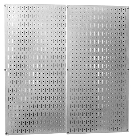 kitchen pegboard ikea counters wall control 30 p 3232gv galvanized steel pack