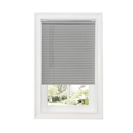 grey kitchen blinds molding on top of cabinets achim home furnishings dsg223al06 豪华sundown g2 无绳百叶窗灰色31 x quot 64 dsg231gy06