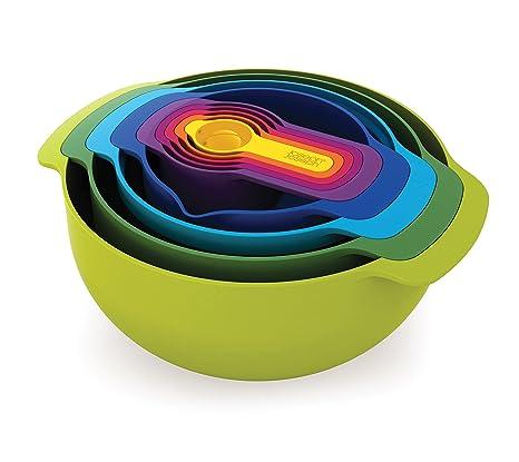 kitchen kits nook style table joseph joseph彩虹九厨具套装40031 亚马逊中国 厨具 海外购美亚直邮