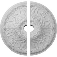 Two Piece Ceiling Medallions - Ceiling Medallions | Shop DIY
