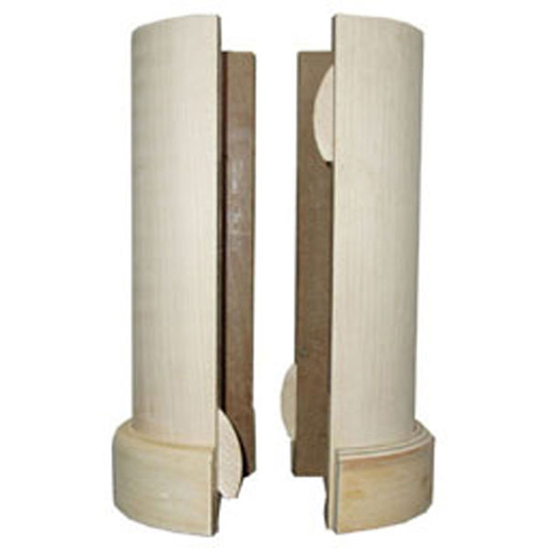 Madrid Inc LC0608PG 5 1 2 Inch X 96 Inch Lally Column Cover With
