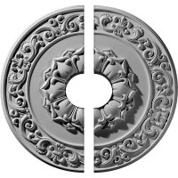Two Piece Ceiling Medallions - Ceiling Medallions ...
