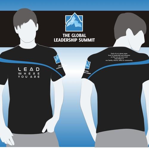 TShirt design for The Global Leadership Summit  Tshirt contest