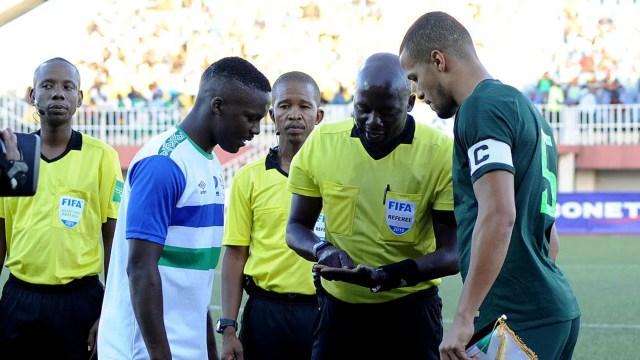 William Troost-Ekong of Nigeria vs Lesotho