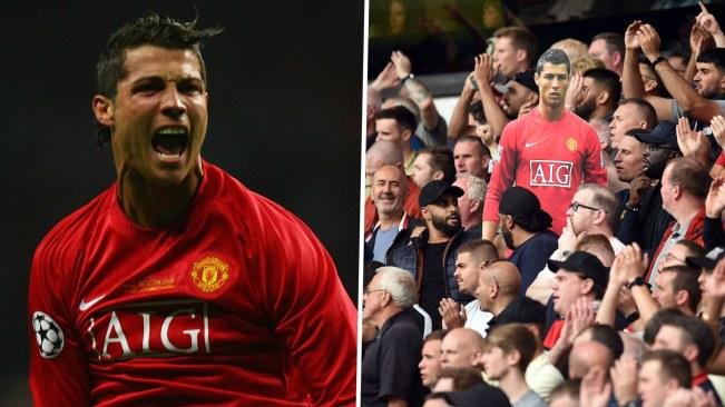 Viva Ronaldo Cristiano fans chant