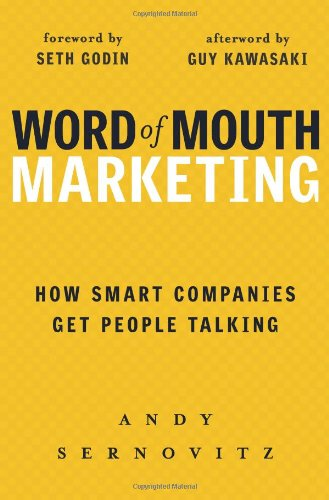 word of mouth marketing book