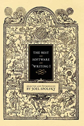 The Best Software Writing 1