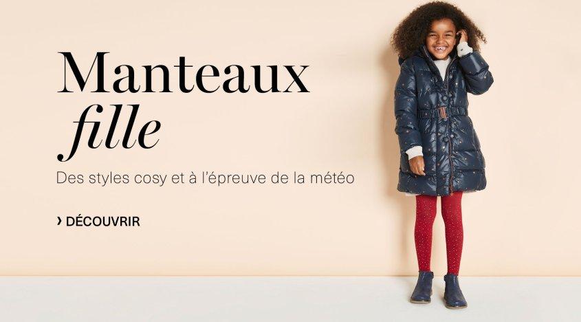 Manteaux Fille