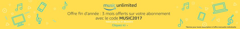 -20€ offerts Amazon Music Unlimited