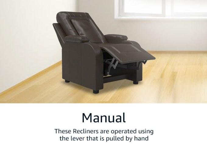 Leather Recliner Sofa Set India