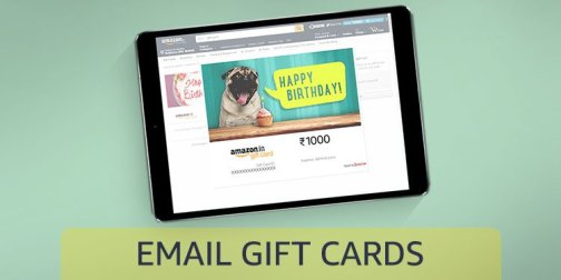 Email Gift Cards