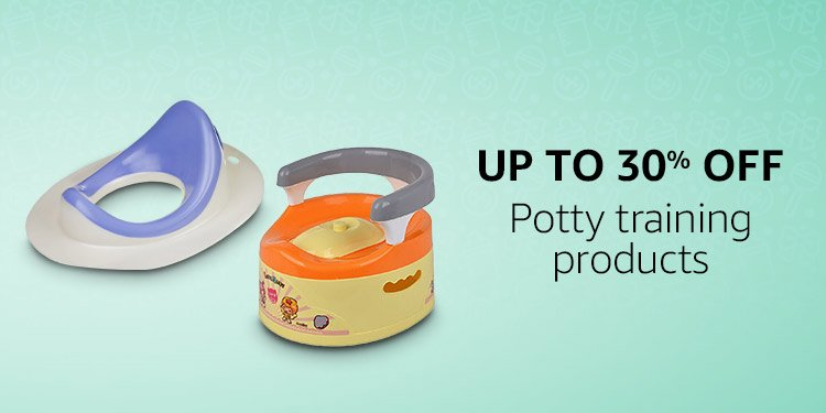 Baby Potty training products  under BABY AND MOTHER ESSENTIAL TIPS