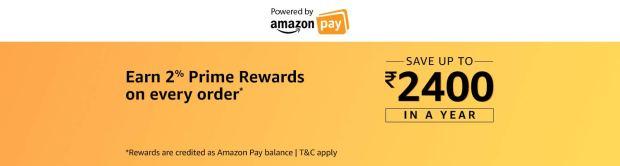Earn 2% Prime Rewards