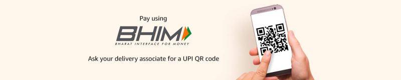 Amazon.in: Pay using UPI at doorstep