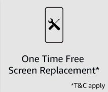 One time Screen replacement