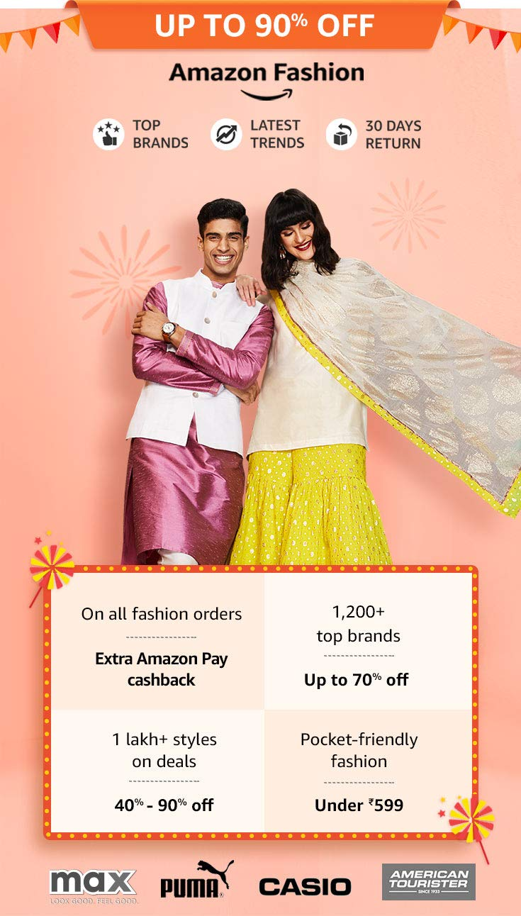 Amazon Fashion Sale 2109