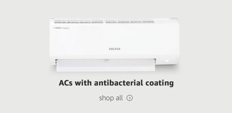 ACs with antibacterial coating