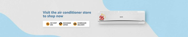 Visit the air conditioner store to shop now