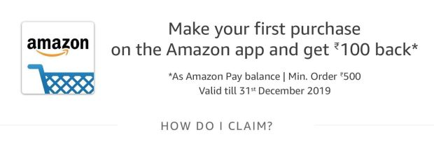 Sign in to the amazon app
