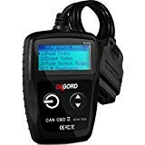 OxGord OBD2 Scanner CAN OBDII Code Reader Scan Tool for Check Engine Light Universal Diagnostic for Car, SUV, Truck and Van (MS309)