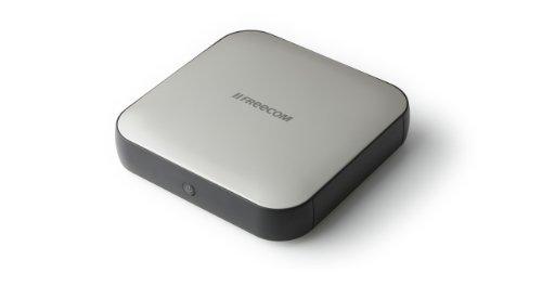 Freecom HardDriveSq HDD Esterno da 4TB, 3,5', Nero/Antracite