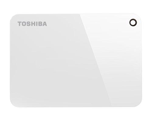 Toshiba Canvio Advance 6,3cm USB 3.0 hard disk esterno portatile 1 TB, Bianco