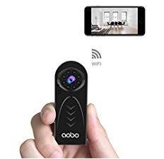 Caméra Espion Cachée AOBO Mini WiFi Cam HD 1080P Vision Nocturne avec Détection de Mouvement Caméra de Surveillance de Sécurité, Enregistreu... 4