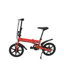 Smartgyro Bicicletta Elettrica Pieghevole, Ruote da 16'e Batteria Ricaricabile al Litio da 4400 mAh...