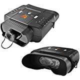 Nightfox 100V Binocolo infrarossi per la visione notturna, digitale, widescreen, con zoom 3x20