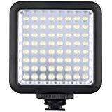 Godox LED 64 Luce Video Fill Light LED per DSLR Fotocamera Videocamera mini DVR come la Luce di...