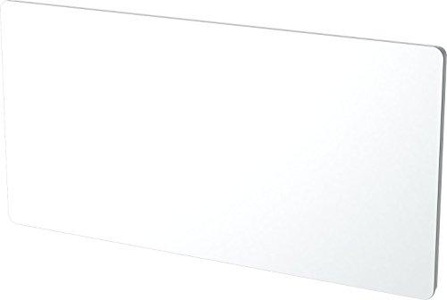Carrera 051197 Panneaux Rayonnant en Verre Blanc LCD 2000W