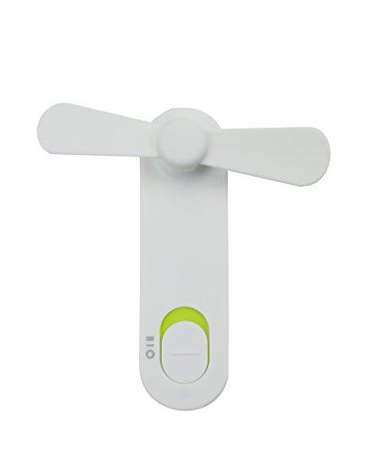 Mini Ventilatore Portatile, Da Esterno E Da Scrivania Con Manico Pieghevole E Batteria, Ricaricabile...