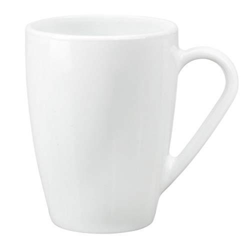 6tazze grandi bianche per caffè, tè, latte da 32 cl
