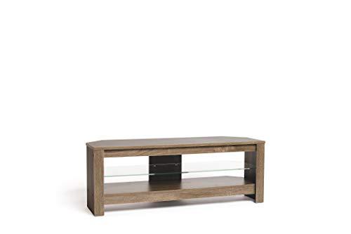 Techlink Calibre+ Mobile TV/mobile TV per soggiorno con ripiano in vetro - per schermi fino a 55' -...