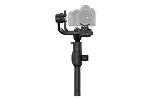 DJI Ronin-S - Stabilizzatore Cardanico Gimbal 3 Assi per Fotocamere Reflex Digitali DSLR, Controllo All-in-one , Stabilizzatore Immagini e Video, Autonomia 12 Ore, Velocità Operativa Massima 75 km/h