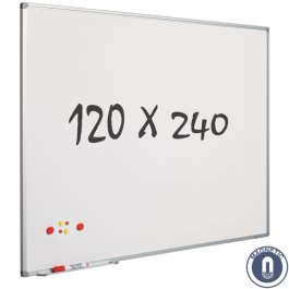 Lavagna bianca–240x 120cm–magnetico