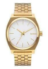 Nixon Orologio Analogico Unisex con Cinturino in Placcato in Acciaio Inox A045508-00