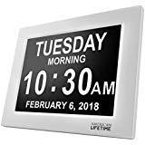 [Nuova Versione] Day Clock – Orologio Sveglia Digitale Extra Large per Bambini, Anziani e Pazienti...