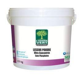 Prodotti di manutenzione per bucato in polvere, albero verde, secchio 15 kg