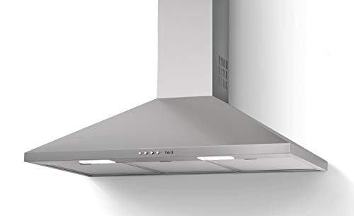 Best - Cappa a parete Win XS 80 BHC82420XA finitura acciaio inox da 80 cm