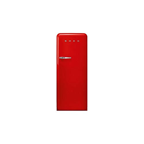 Smeg - Frigorifero monoporta FAB28RRD3 finitura rosso da 60cm