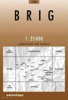 Swisstopo 1 : 25 000 Brig